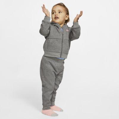 Nike Conjunto de dos piezas de sudadera con capucha y jogger - Bebé (12-24M)