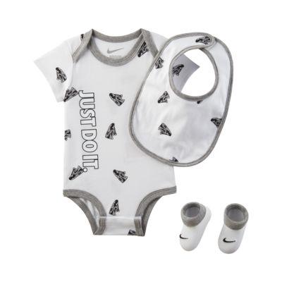 Trzyczęściowy zestaw dla niemowląt Nike