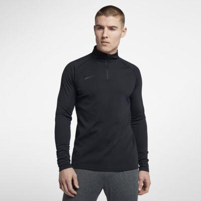 Pánské fotbalové tréninkové tričko Nike Dri-FIT Academy se čtvrtinovým zipem
