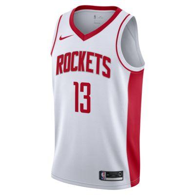 James Harden Association Edition Swingman (Houston Rockets) Men's Nike NBA Connected Jersey