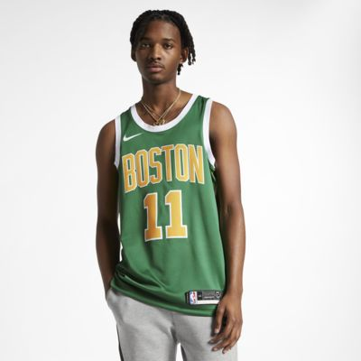 Maillot connecté Nike NBA Kyrie Irving Earned City Edition Swingman (Boston Celtics) pour Homme