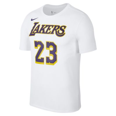 Tee-shirt NBA Los Angeles Lakers Nike Dri-FIT pour Homme