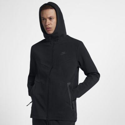 Nike Sportswear Tech Pack hosszú cipzáras, kapucnis férfipulóver
