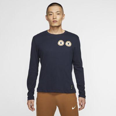 Męski T-shirt z długim rękawem Nike Dri-FIT A.I.R. Cody Hudson