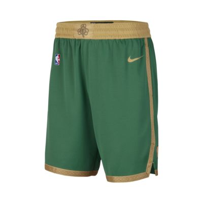 Celtics City Edition Nike NBA Swingman Shorts