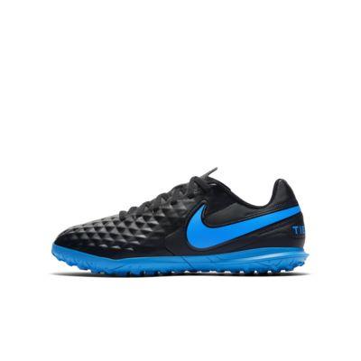 Buty piłkarskie na sztuczną nawierzchnię typu turf dla małych dzieci Nike Jr. Tiempo Legend 8 Club TF