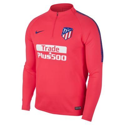 Pánské fotbalové tričko s dlouhým rukávem Atletico de Madrid Dri-FIT Squad Drill