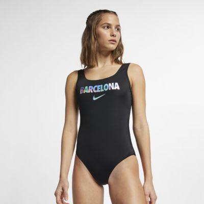 Hel baddräkt Nike Swim City Series (Barcelona) för kvinnor