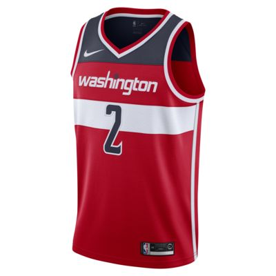 华盛顿奇才队 (John Wall) Icon Edition Swingman Nike NBA Connected Jersey 男子球衣