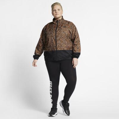 Dámská tkaná bunda Nike Sportswear Animal Print (větší velikost)