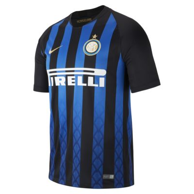 2018/19 Inter Milan Stadium Home Men's Football Shirt