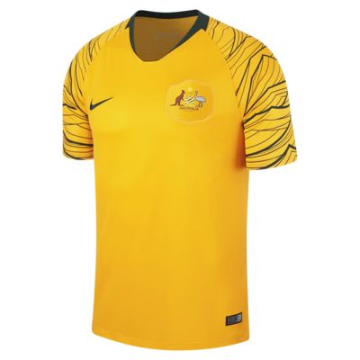 Camiseta de fútbol de local para hombre Stadium de Australia 2018