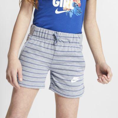 Shorts para niña talla grande Nike Sportswear