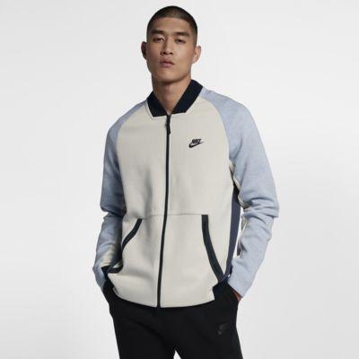 veste nike sportswear tech fleece varsity pour homme ch. Black Bedroom Furniture Sets. Home Design Ideas