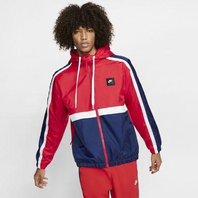 Nike Air vevd jakke til herre