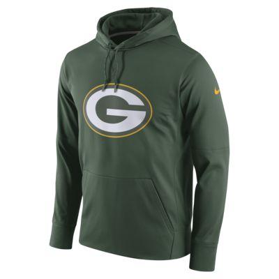 Nike Circuit Logo Essential (NFL Packers) Men's Pullover Hoodie
