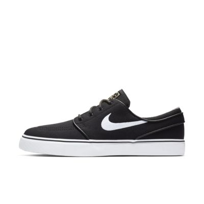 Nike Sb Zoom Stefan Janoski Canvas Mens Black/Gum Light Brown/Metallic Gold Star/White X341184WO Sho
