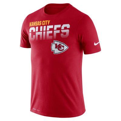 Nike Legend (NFL Chiefs) T-shirt met korte mouwen voor heren