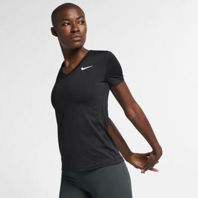 Kortärmad träningströja Nike Dri-FIT Victory för kvinnor