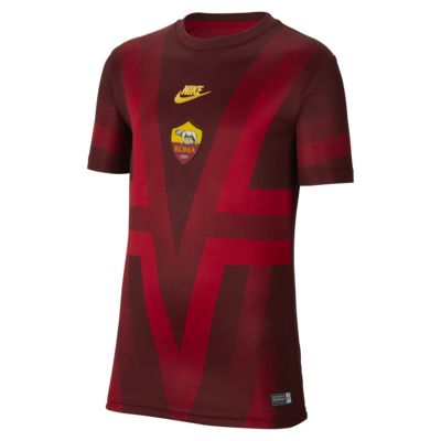 A.S. Roma Older Kids' Short-Sleeve Football Top