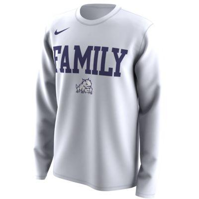 "Nike College Dri-FIT Legend ""Family"" (TCU) Men's Long-Sleeve T-Shirt"