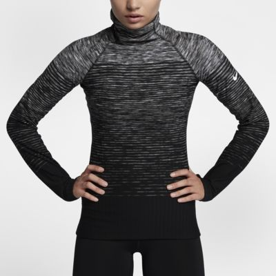 Nike Pro HyperWarm 女款長袖訓練上衣