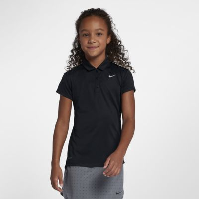 Nike Dri-FIT Big Kids' (Girls') Golf Polo