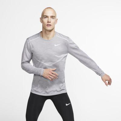 Prenda para la parte superior de running de manga larga para hombre Nike TechKnit Ultra