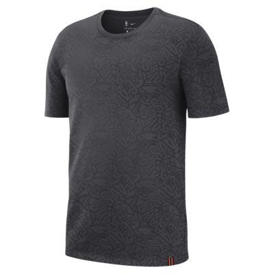 เสื้อยืด NBA ผู้ชายพิมพ์ลาย Cleveland Cavaliers Nike