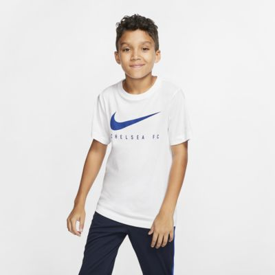 Tee-shirt de football Nike Dri-FIT Chelsea FC pour Enfant plus âgé