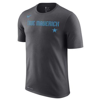 Playera de la NBA para hombre Dallas Mavericks City Edition Nike Dri-FIT