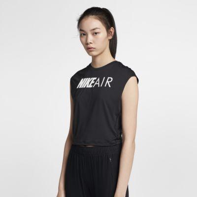 Nike Air 女子短袖跑步短款上衣