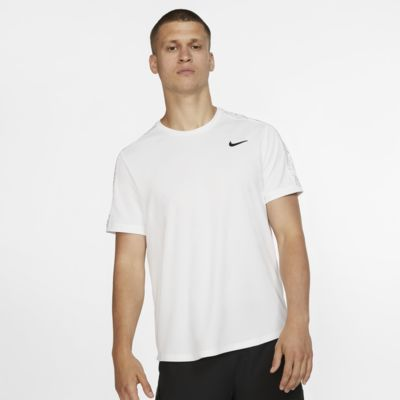 Haut de tennis à manches courtes avec motifs NikeCourt Dri-FIT pour Homme