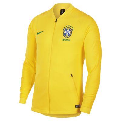 Brasil CBF Anthem férfi futball-melegítőfelső