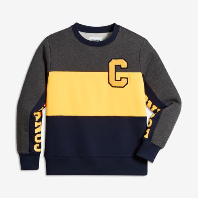 Converse Colorblock Crew Big Kids' (Boys') Sweatshirt