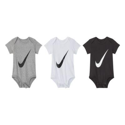 3-pak Nike-body til babyer