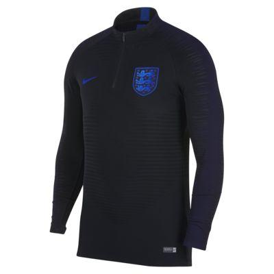 Pánské fotbalové tričko s dlouhým rukávem VaporKnit Strike Drill Anglie