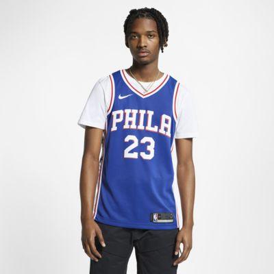 Camisola com ligação à NBA da Nike Jimmy Butler Icon Edition Swingman (Philadelphia 76ers) para homem