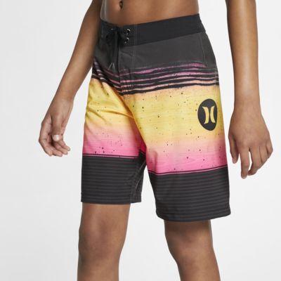 Shorts de playa de 41 cm para niño Hurley Phantom Overspray