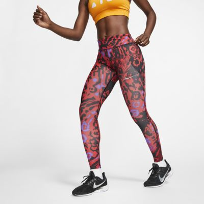 Legging de running 7/8 imprimé Nike Fast pour Femme
