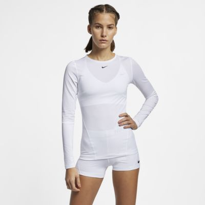 5f668030 Nike Pro Women's Long-Sleeve Mesh Top. Nike.com