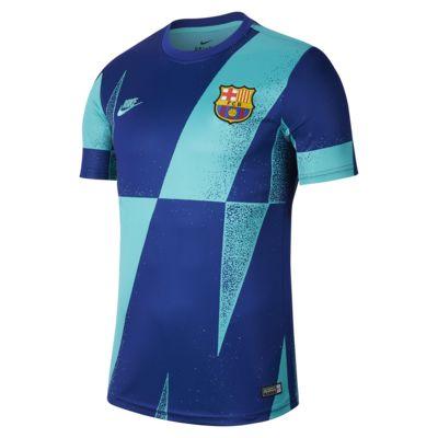 Мужская игровая футболка с коротким рукавом FC Barcelona