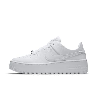 Buty damskie Nike Air Force 1 Flyknit Low Biel Ceny i