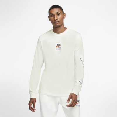 Maglia stampata a manica lunga Nike Sportswear - Uomo