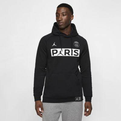 Męska dzianinowa bluza z kapturem Paris Saint-Germain