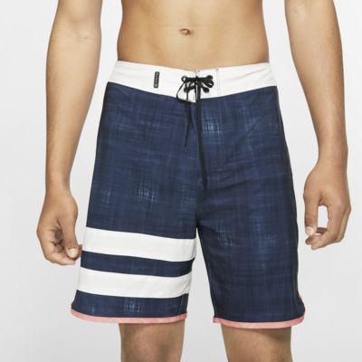 "Hurley Phantom Block Party Whitewash Men's 18"" Board Shorts"