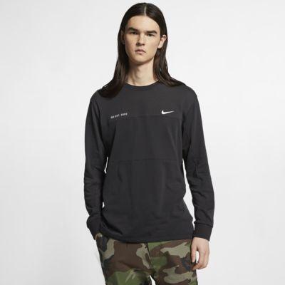 Skateboardové tričko Nike SB ze síťoviny s dlouhým rukávem