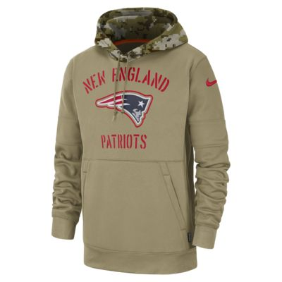 Nike Therma Salute to Service (NFL Patriots) Men's Hoodie