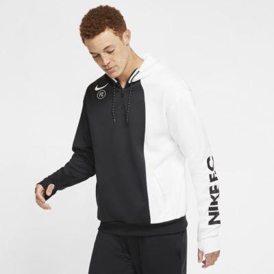 Felpa da calcio con cappuccio Nike F.C. - Uomo