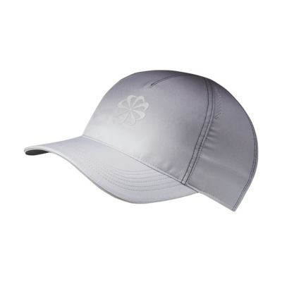 หมวกแก๊ปวิ่งมีกราฟิก Nike Featherlight